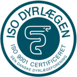 Dyrlægehuset Kolding er ISO 9001 certificeret